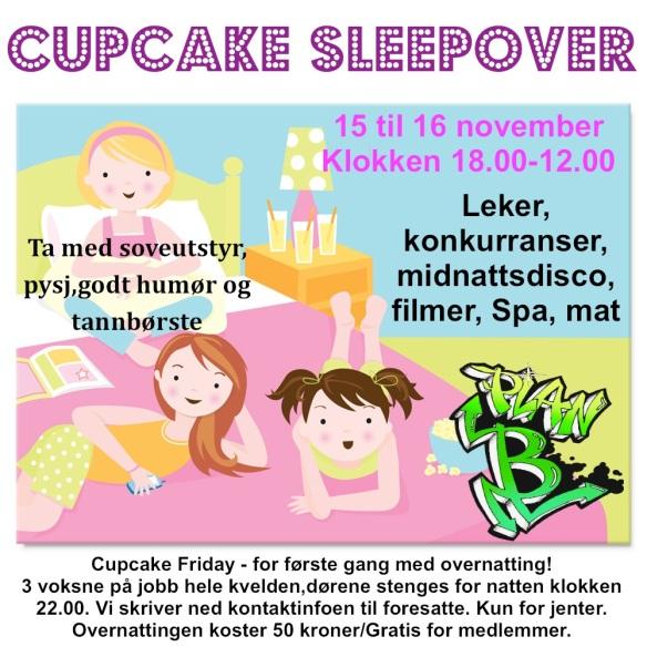 Cupcake sleeopver1